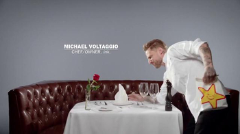 Carl's Jr. Steakhouse Thickburger TV Spot, 'Chef Michael Voltaggio' - Thumbnail 1