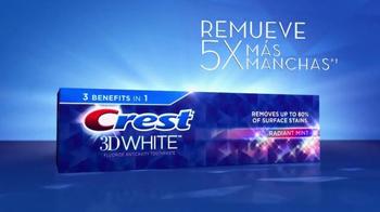 Crest 3D White Radiant Mint TV Spot, 'Juego de Poker' [Spanish] - Thumbnail 7