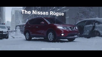 2016 Nissan Rogue TV Spot, 'Winter Warrior' - Thumbnail 6