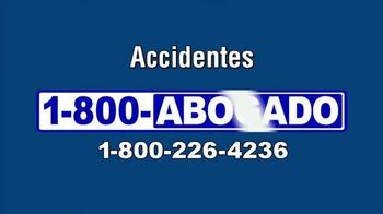 1-800-ABOGADO TV Spot, 'Representante de los accidentes' [Spanish] - Thumbnail 4