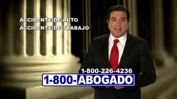 1-800-ABOGADO TV Spot, 'Representante de los accidentes' [Spanish] - Thumbnail 2