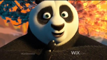Wix.com Super Bowl 2016 TV Spot, 'Kung Fu Panda 3' [Spanish] - Thumbnail 1