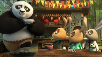 Wix.com Super Bowl 2016 TV Spot, 'Kung Fu Panda 3' [Spanish] - Thumbnail 4