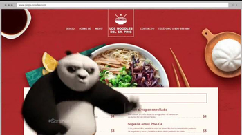 Wix.com Super Bowl 2016 TV Spot, 'Kung Fu Panda 3' [Spanish] - Thumbnail 7