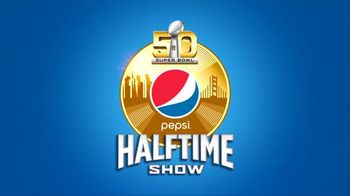 Super Bowl 2016 Halftime Show TV Promo