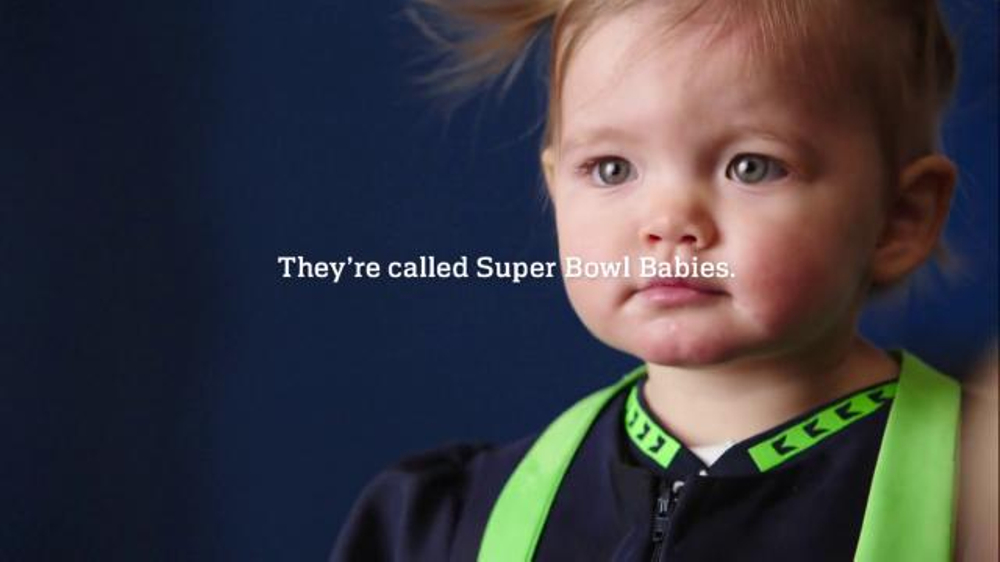 National Football League Super Bowl 2016 TV Commercial, 'Super Bowl Babies'