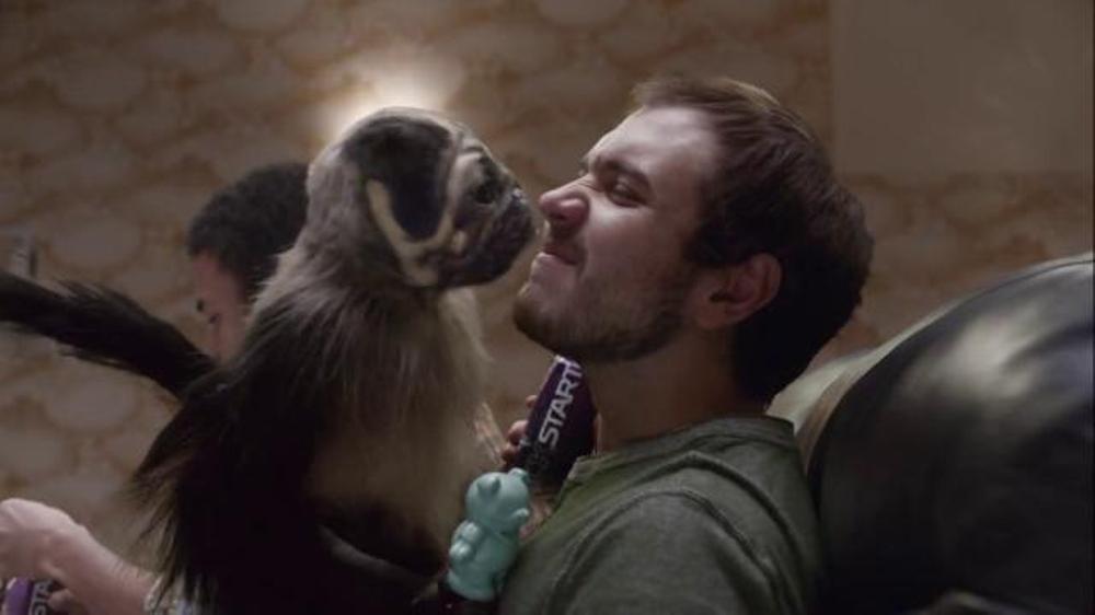 Mountain Dew Kickstart Super Bowl 2016 TV Commercial, 'Puppymonkeybaby'