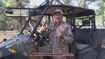 Brinson Powersports TV Spot, 'The Non-road' Featuring Ted Nugent