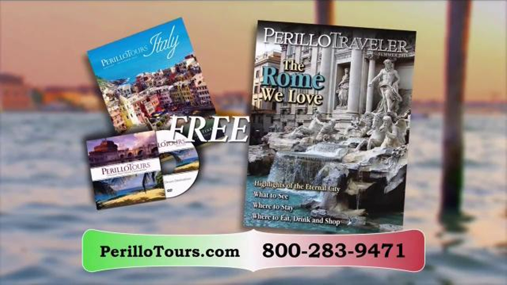 Perillo Tours TV Commercial, 'Don't Wait Until It's Too Late'