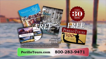 Perillo Tours TV Spot, 'Don't Wait Until It's Too Late' - Thumbnail 10