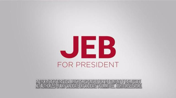 Right to Rise USA TV Spot, 'Guts' Featuring Jeb Bush - Thumbnail 10