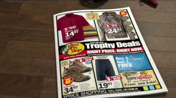Bass Pro Shops Trophy Deals TV Spot, 'Shirts, Boots and Inflatable Vests' - Thumbnail 3