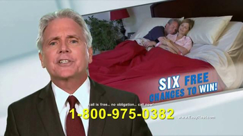 Easy Rest Win-A-Bed Sweepstakes TV Spot, 'Six Chances' - Thumbnail 4