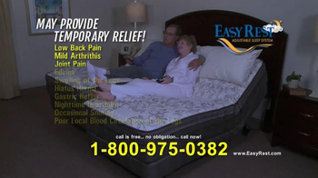Easy Rest Win-A-Bed Sweepstakes TV Spot, 'Six Chances' - Thumbnail 7