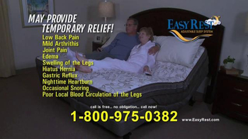 Easy Rest Win-A-Bed Sweepstakes TV Spot, 'Six Chances' - Thumbnail 8