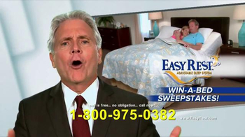 Easy Rest Win-A-Bed Sweepstakes TV Spot, 'Six Chances' - Thumbnail 9