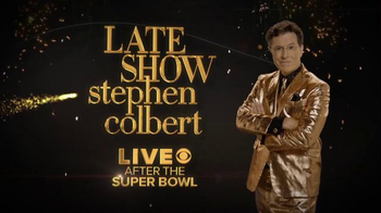 The Late Show Super Bowl 2016 TV Promo, 'Colbert' - Thumbnail 7