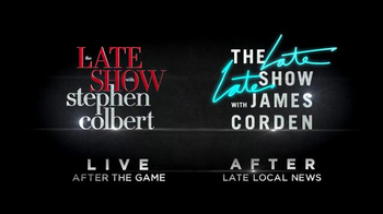 The Late Show | The Late Late Show Super Bowl 2016 TV Promo - Thumbnail 7