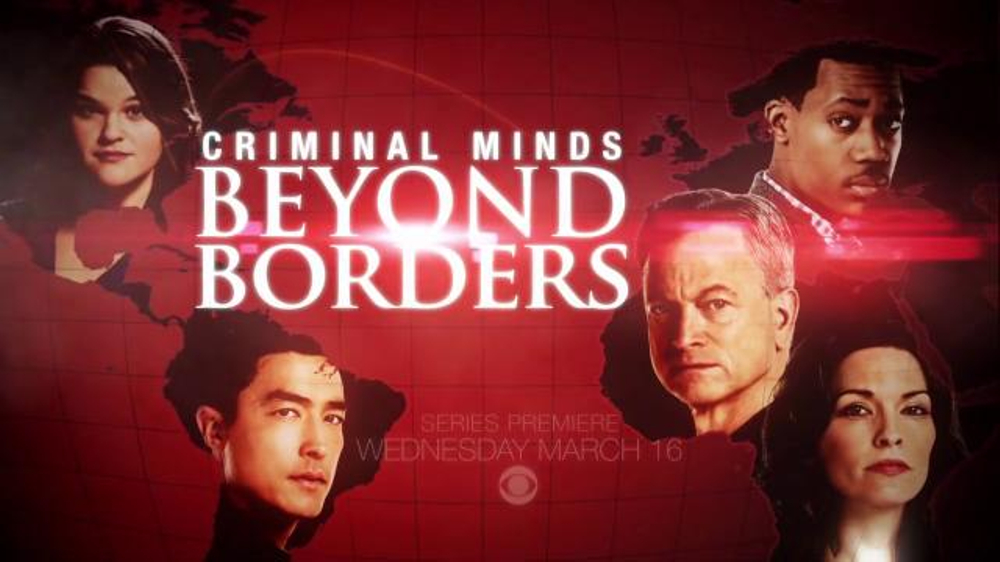 Criminal Minds: Beyond Borders Super Bowl 2016 TV Promo