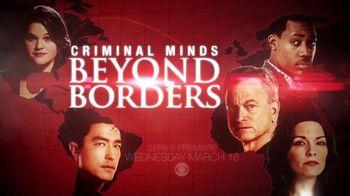 Criminal Minds: Beyond Borders Super Bowl 2016 TV Promo
