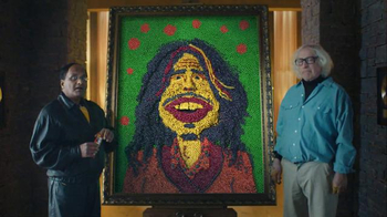 Skittles Super Bowl 2016 TV Spot, 'The Portrait' Featuring Steven Tyler