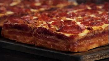 Little Caesars Bacon Wrapped Deep!Deep! Dish TV Spot, 'Corporate Scapegoat' - Thumbnail 10