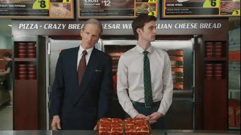 Little Caesars Bacon Wrapped Deep!Deep! Dish TV Spot, 'Corporate Scapegoat' - Thumbnail 3