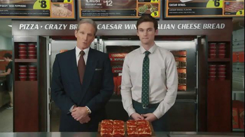 Little Caesars Bacon Wrapped Deep!Deep! Dish TV Spot, 'Corporate Scapegoat' - Thumbnail 4