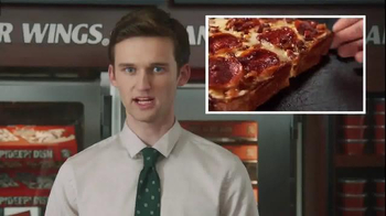 Little Caesars Bacon Wrapped Deep!Deep! Dish TV Spot, 'Corporate Scapegoat' - Thumbnail 6