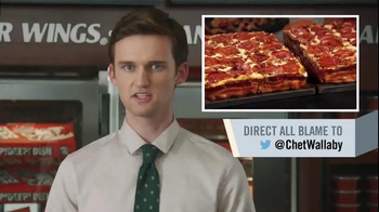 Little Caesars Bacon Wrapped Deep!Deep! Dish TV Spot, 'Corporate Scapegoat' - Thumbnail 7