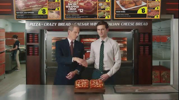 Little Caesars Bacon Wrapped Deep!Deep! Dish TV Spot, 'Corporate Scapegoat' - Thumbnail 8