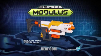 Nerf Modulus Recon MKII 4-in-1 Blaster TV Spot, 'More Blaster Combinations' - Thumbnail 9