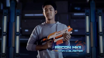 Nerf Modulus Recon MKII 4-in-1 Blaster TV Spot, 'More Blaster Combinations'