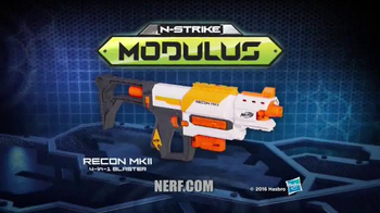 Nerf Modulus Recon MKII 4-in-1 Blaster TV Spot, 'More Blaster Combinations' - Thumbnail 8