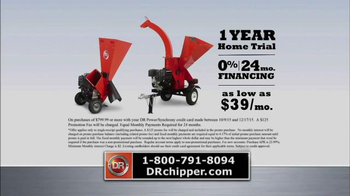 DR Power Equipment Chippers TV Spot, 'Low Price' - Thumbnail 9