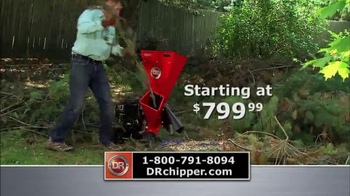 DR Power Equipment Chippers TV Spot, 'Low Price' - Thumbnail 7