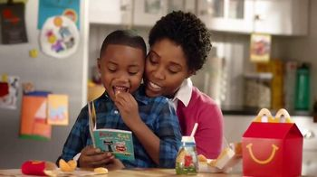 McDonald's Happy Meal TV Spot, 'The Books You Love' - 480 commercial airings