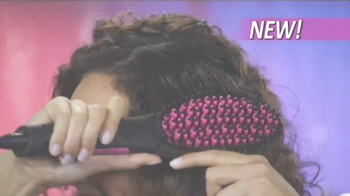 Simply Straight TV Spot, 'Brush Your Curly Hair Straight' - Thumbnail 2