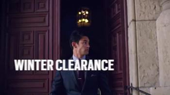 Men's Wearhouse Winter Clearance TV Spot, 'Savings in Season' - Thumbnail 1
