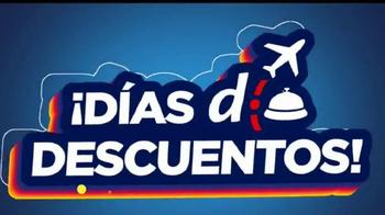 Despegar.com TV Spot, 'Viaja con descuentos' [Spanish] - Thumbnail 1