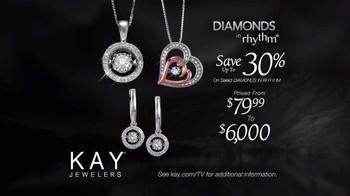 Kay Jewelers Diamonds in Rhythm TV Spot, 'Penguin Kiss: Save 30%' - Thumbnail 8