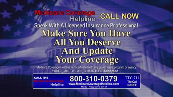 Medicare Coverage Helpline TV Spot, 'Medicare Beneficiaries' - Thumbnail 6
