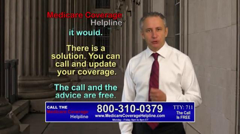 Medicare Coverage Helpline TV Spot, 'Medicare Beneficiaries' - Thumbnail 5
