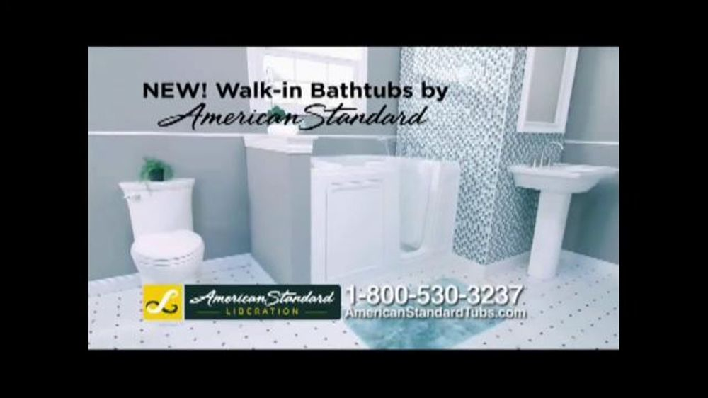 American Standard Liberation Walk In Bathtub Tv Commercial Ease Of