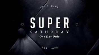 JoS. A. Bank Super Saturday Sale TV Spot, 'Suits, Sportcoats and Blazers' - Thumbnail 1