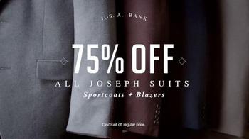 JoS. A. Bank Super Saturday Sale TV Spot, 'Suits, Sportcoats and Blazers' - Thumbnail 2