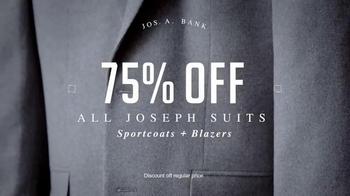 JoS. A. Bank Super Saturday Sale TV Spot, 'Suits, Sportcoats and Blazers' - Thumbnail 3