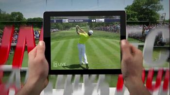 PGA Tour Live TV Spot, 'Be There' - 167 commercial airings