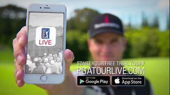 PGA Tour Live TV Spot, 'Be There' - Thumbnail 10