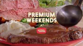 Golden Corral Premium Weekends TV Spot, 'Love at First Bite' - Thumbnail 4